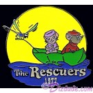 Countdown to the Millennium Series Pin #35 (The Rescuers - Bernard, Bianca & Evinrude) © Dizdude.com