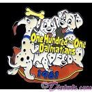 Countdown to the Millennium Series Pin #62 (101 Dalmatians) © Dizdude.com