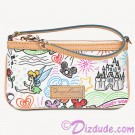 Dooney & Bourke Disney Sketch Wristlet © Dizdude.com