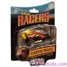 Star Tours Disney Racers Darth Maul Die cast metal body race car 1/64 scale - Disney Star Wars Weekends 2014 © Dizdude.com