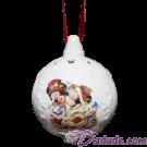 Disney Mickey & Minnie Christmas Tree Ornament © Dizdude.com