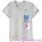 Passholder V-Neck Adult T-shirt with Figment (Tee, Tshirt or T shirt) - Disney Epcot International Flower & Garden Festival 2017