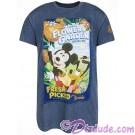 Disney Epcot International Flower & Garden Festival 2018 Logo Poster Adult T-shirt (Tee, Tshirt or T shirt)