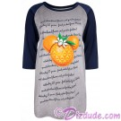 Mickey Raglan Ladies T-shirt (Tee, Tshirt or T shirt) - Disney Epcot International Flower & Garden Festival 2018