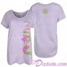 Figment V-neck Ladies T-shirt (Tee, Tshirt or T shirt) - Disney Epcot International Flower & Garden Festival 2018