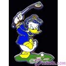 Walt Disney World - Golfing Donald Hinge Pin © Dizdude.com