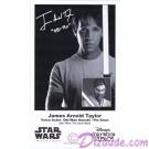 James Arnold Taylor (JAT) the voice of Obi-Wan Kanobi & Plo Koon Presigned Official Star Wars Weekends 2012 Celebrity Collector Photo © Dizdude.com