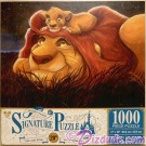 Lion King 20th Anniversary 1000 Piece Disney Signature Puzzle © Dizdude.com