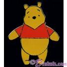 Walt Disney World - Simple Series Pooh Standing Pin © Dizdude.com