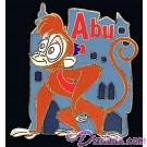 Walt Disney World Cast Lanyard Series 2 ~ Pets of Stars Abu the Monkey Pin © Dizdude.com
