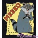 Walt Disney World Cast Lanyard Series 2 ~ Pets of Stars Meeko Pin © Dizdude.com