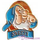 Disney Snow White and the Seven Dwarfs Video & DVD Release - Sneezy Pin © Dizdude.com