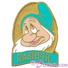 Disney Snow White and the Seven Dwarfs Video & DVD Release - Bashful Pin © Dizdude.com