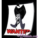 Walt Disney World Cast Lanyard Series 3 ~ Wanted Posters Jafar Pin © Dizdude.com
