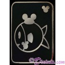 WDW Hidden Mickey Series III - Fish With Mouse Ears Pin