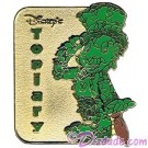 Walt Disney World - Cast Lanyard Pin Collection 1 - Jiminy Cricket Topiary Pin © Dizdude.com