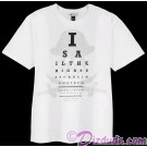 Pirate Eye Chart Adult T-shirt (Tee, Tshirt or T shirt) Disney's Pirates of the Caribbean