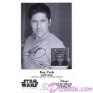Ray Park who played Darth Maul Presigned Official Star Wars Weekends 2012 Celebrity Collector Photo © Dizdude.com