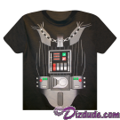 Disney Star Wars Darth Vader Armour Kids T-Shirt © Dizdude.com