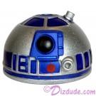 R2 Silver & Blue Astromech Droid Dome ~ Series 2 from Disney Star Wars Build-A-Droid Factory © Dizdude.com