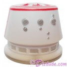 R5 White & Red Astromech Droid Dome ~ Series 2 from Disney Star Wars Build-A-Droid Factory © Dizdude.com