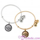 """Yoda """"DO OR DO NOT - THERE IS NO TRY"""" Antiqued Rafaelian Gold or Silver Finished Star Wars Adjustable Charm Bangle - by Alex & Ani"""