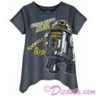 Artoo-Detoo to the Rescue T-Shirt (Tshirt, T shirt or Tee)  Disney Star Wars: The Last Jedi © Dizdude.com