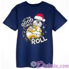 BB-8 Let The Good Times Roll Christmas Holiday Youth T-Shirt (Tshirt, T shirt or Tee) Disney Star Wars © Dizdude.com
