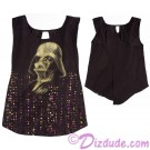 Darth Vader Ladies Crossback Top T-Shirt (Tshirt, T shirt or Tee) - Disney's Star Wars