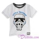 Disney Star Wars Little Trooper Toddler T-Shirt (Tshirt, T shirt or Tee) © Dizdude.com