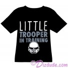 Disney Star Wars Little Trooper In Training Toddler T-Shirt (Tshirt, T shirt or Tee) © Dizdude.com