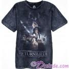 Return Of The Jedi Acid Wash Style Poster Adult T-Shirt (Tshirt, T shirt or Tee) - Disney's Star Wars © Dizdude.com