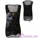 Darth Vader Wrap Fashion Adult Tank Top - Disney Star Wars © Dizdude.com