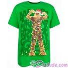 Disney Star Wars Chewbacca Wookiee Tree Holiday Adult T-Shirt (Tshirt, T shirt or Tee) © Dizdude.com