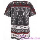 Disney Star Wars Ho Ho Ho Darth Vader Merry Sithmas Holiday Adult T-Shirt (Tshirt, T shirt or Tee) © Dizdude.com