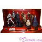 Disney Star Wars: Episode VII ~ The Force Awakens 10 Figurine Deluxe Playset Multi-Pack © Dizdude.com