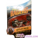 Star Wars The Force Awakens Disney Racer Kylo Ren die cast metal body race car 1/64 scale © Dizdude.com
