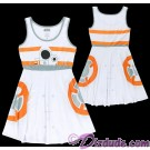 BB-8 Adult Dress - Disney Star Wars The Force Awakens © Dizdude.com