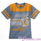 BB-8 Keep It Moving Youth T-Shirt (Tshirt, T shirt or Tee) - Disney's Star Wars The Force Awakens  © Dizdude.com