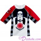 First Order Youth Rashguard Long Sleeved Swim Shirt - Disney Star Wars: The Force Awakens © Dizdude.com