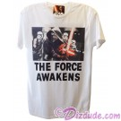 Disney Star Wars The Force Awakens Adult T-Shirt (Tshirt, T shirt or Tee) © Dizdude.com