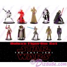 Star Wars VIII: The Last Jedi 10 Figurine Deluxe Playset Multi-Pack ~ Disney Star Wars © Dizdude.com