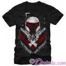 Star Wars Boba Fett - No Threats Only Promises Adult T-Shirt (Tshirt, T shirt or Tee) © Dizdude.com