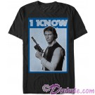"Star Wars Han Solo Famous Love Quote ""I Know"" Adult T-Shirt (Tshirt, T shirt or Tee) © Dizdude.com"