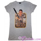 Star Wars Rey and BB-8 Junior T-Shirt (Tshirt, T shirt or Tee) © Dizdude.com