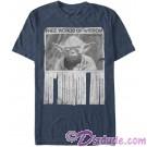 Star Wars Yoda - Words Of Wisdom Adult T-Shirt (Tshirt, T shirt or Tee) © Dizdude.com