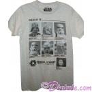 Disney Star Wars Imperial Academy Annual Year Book Class of 77' Adult T-Shirt © Dizdude.com