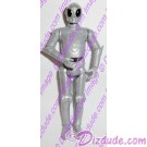 Silver RA Protocol Droid from Disney Star Wars Build-A-Droid Factory © Dizdude.com