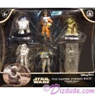 Star Wars The Empire Strikes Back Collectible Figures ~ Disney Star Wars Weekends 2015 © Dizdude.com