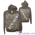Disney Star Wars: Chewbacca Youth Hoodie Printed Front & Back © Dizdude.com